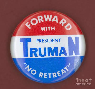 Truman Campaign Button Art Print