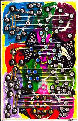 Jazz Ensemble Jam Art Print