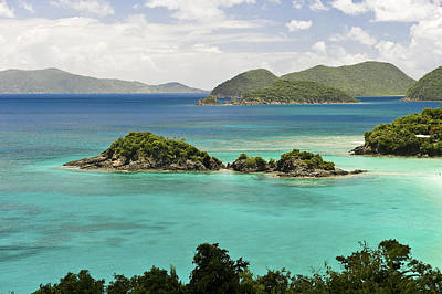 Trunk Bay St John  Art Print
