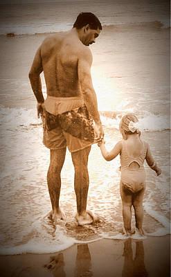 Trusting Daddy Art Print