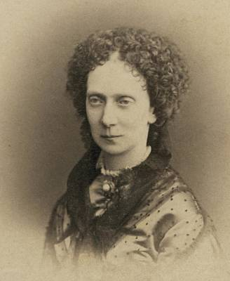 Tsarina Marie Alexandrovna 1824-1880 Art Print