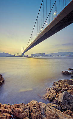 Tsing Ma Bridge Art Print by Andi Andreas