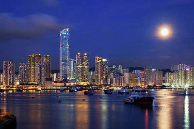 Hong Kong Photograph - Tsuen Wan Bay by Tommy Au Photo