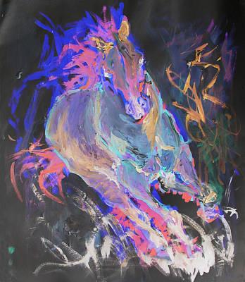 Painting - Tsunami by Elizabeth Parashis