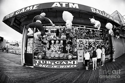 Seaside Heights Photograph - Tub Game by John Rizzuto