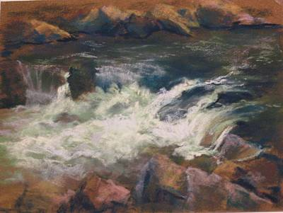 Pastel - Tuccanon River by Marlene Kingman