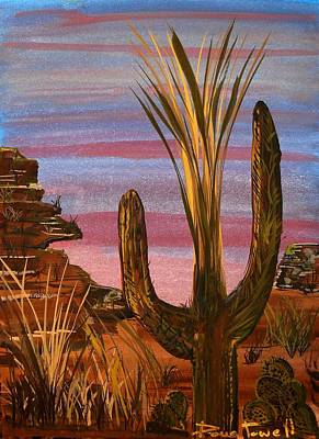 Painting - Tucson Desert by Doug Powell