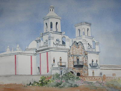 Tucson Mission Art Print