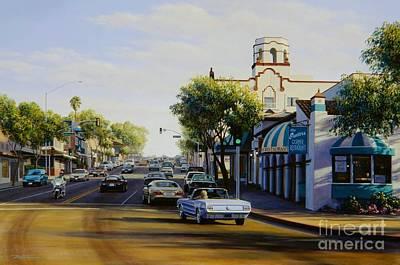 Tuesday In Laguna Beach Original by Frank Dalton