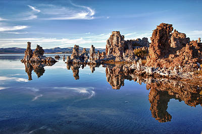 Vines Photograph - Tufas At Mono Lake by Mimi Ditchie Photography