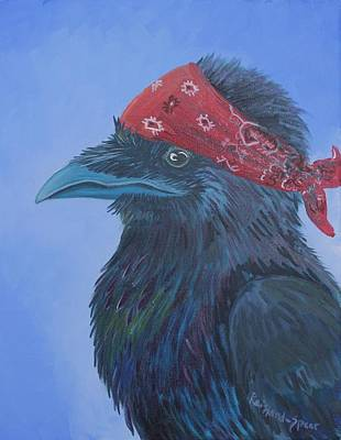 Painting - Tuffy by Amy Reisland-Speer