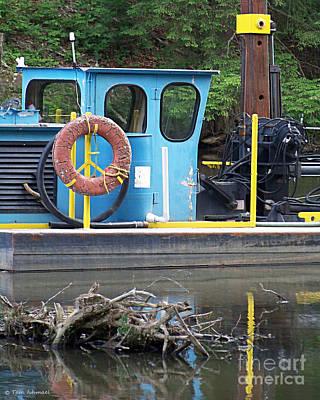 Tug Boat Art Print by Tammy Ishmael - Eizman