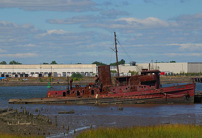 Staten Island Photograph - Tugboat Graveyard by Steven Richman