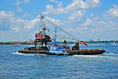 Hudson River Tugboat Photograph - Tugboat by Michelle Cruz
