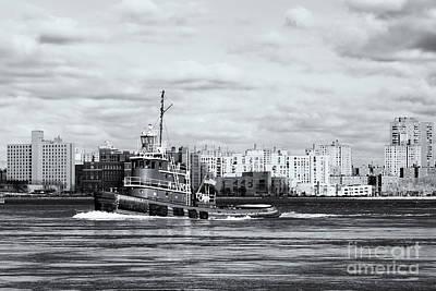 Photograph - Tugboat Turecamo Girls II by Clarence Holmes
