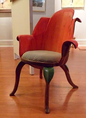 Tulip Chair Sculpture - Tulip Chair by Hans Droog