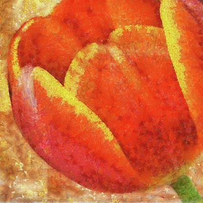 Painting - Tulip II by Jai Johnson