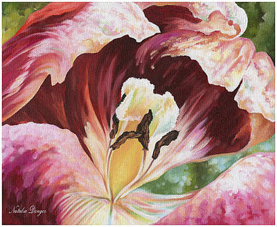 Painting - Tulip Sansation by Natasha Denger