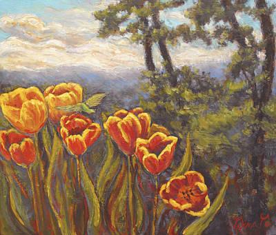 Tulip Vista Art Print