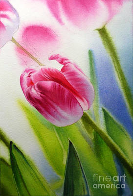 Painting - Tulipmania by Arena Shawn