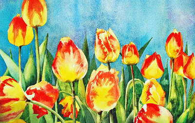 Painting - Tulips by Diane Fujimoto