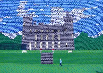 Tullynally Castle Ireland Art Print by Eamon Reilly