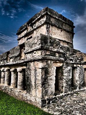 Photograph - Tulum Ruinas 1 by Skip Hunt