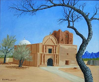 Tumacacori National Historical Park Original by Russell McCrackin
