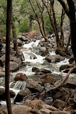 Photograph - Tumbling Creek by Lorraine Devon Wilke