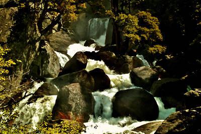 Photograph - Tumbling Waters by Ellen Heaverlo