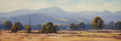 Mountain Landscape - Tumut Landscape by Graham Gercken