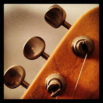 Guitar Photograph - Tune Up by Ken Powers