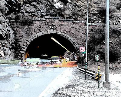 Tunnel 1 Clear Creek Canyon Print by Bill Kennedy