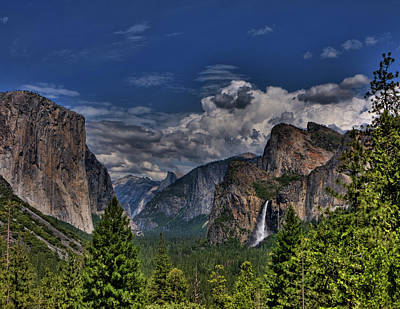 Photograph - Tunnel View by Beth Sargent