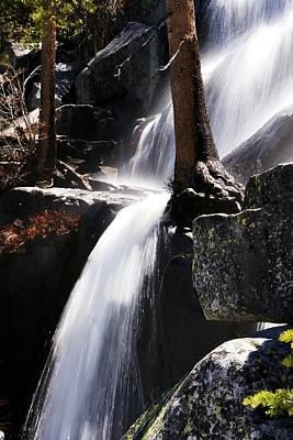 Photograph - Tuolumne River Waterfall by Michael Courtney
