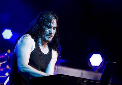 Photograph - Tuomas Holopainen - Nightwish  by Saija  Lehtonen