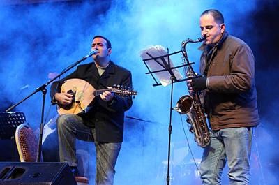 Turab Band At Nativity International Christmas Festival Original by Munir Alawi