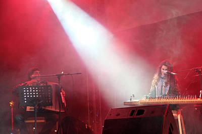 Turab Palestinian Band Performing In Bethlehem Original by Munir Alawi