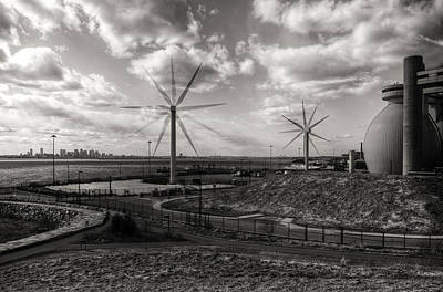 Turbines In Motion Print by Andrew Kubica