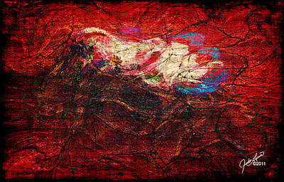 Painting - Turbulance by The Art Of JudiLynn
