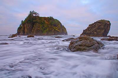 Rocks Photograph - Turbulent by Dan Mihai