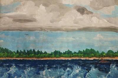 Turbulent Art Print by Jeanette Stewart