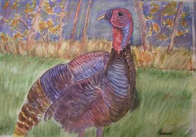 Painting - Turkey Call by Belinda Lawson