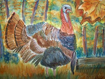 Painting - Turkey In Fall by Belinda Lawson