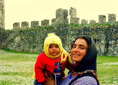Photograph - Turkish Mom And Baby by Lou Ann Bagnall