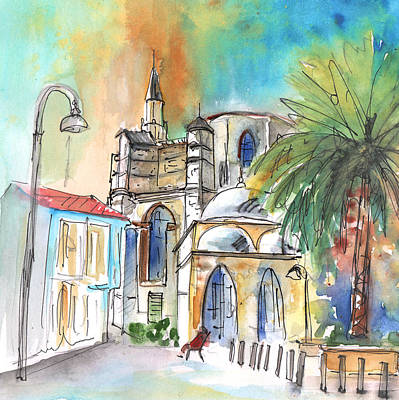 Painting - Turkish Nicosia by Miki De Goodaboom