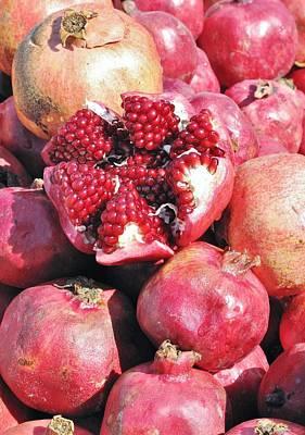 Photograph - Turkish Pomegrants by Ian  MacDonald
