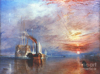 Photograph - Turner: Fighting Temeraire by Granger