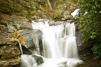 Photograph - Turners Corner Waterfall 1 by Douglas Barnett