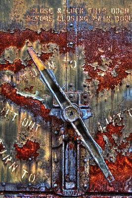 Photograph - Turning Rusty by Greg Sharpe